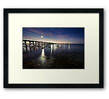 Moonta Bay Framed Print