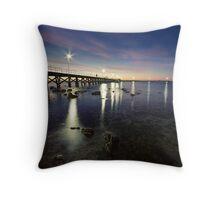 Moonta Bay Throw Pillow