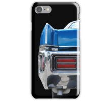 The blue one iPhone Case/Skin