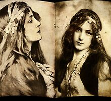 Gypsy girl 1901 by © Kira Bodensted
