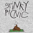 Stinky Picnic - Large Logo T-Shirt... by IWML