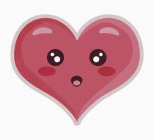 Kawaii Heart One Piece - Short Sleeve