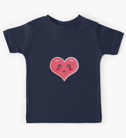 Kawaii Heart Kids Tee