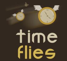 Time Flies shirt  by lucduckling
