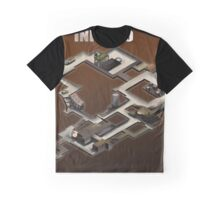 Inferno Isometric map Poster/Sticker Graphic T-Shirt
