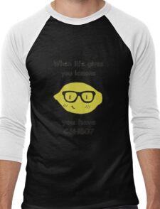 when life gives you lemons Men's Baseball ¾ T-Shirt