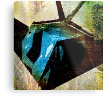 A STEALTH BOMBER, DIGITIZED Metal Print