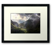 The Remains of the Day. Framed Print