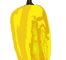 Yellow Pepper by Havocgirl