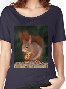 Red Squirrel Women's Relaxed Fit T-Shirt