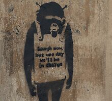 Banksy by BeccE