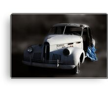 When an Irresistible Force Meets a Moveable Object Canvas Print