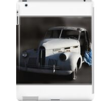 When an Irresistible Force Meets a Moveable Object iPad Case/Skin