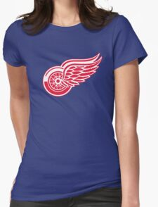 detroit red wings Womens Fitted T-Shirt
