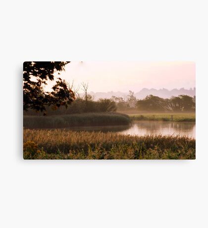 A Country Morning Canvas Print