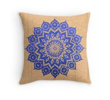 okshirahm sky mandala Throw Pillow