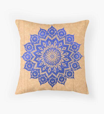 okshirahm sky mandala Throw Pillow