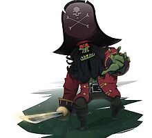 Zombie Pirate LeChuck by trmrddr
