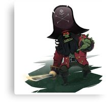 Zombie Pirate LeChuck Canvas Print