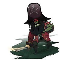 Zombie Pirate LeChuck Photographic Print