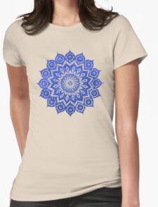 okshirahm sky mandala Womens Fitted T-Shirt