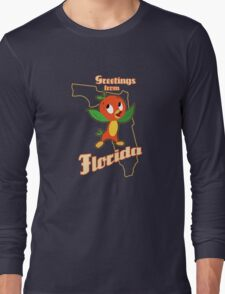 Greetings from Florida Long Sleeve T-Shirt