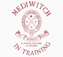 St. Mungo's Hospital - Mediwitch in Training (Red) by Mouan