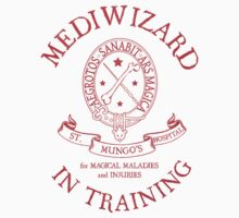 St. Mungo's Hospital - Mediwizard in Training (Red) by Mouan