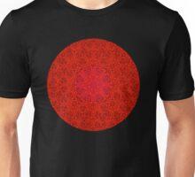 rashim red lace mandala Unisex T-Shirt