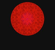 rashim red lace mandala Unisex T-Shirt