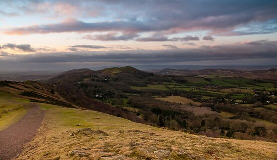 Boxing Day Walk, Malvern Hills, Herefordshire end by Cliff Williams