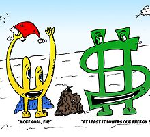 Bucky Euroman and the Xmas coals cartoon by Binary-Options