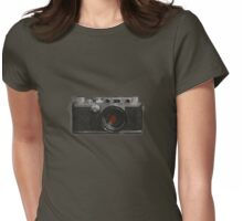 leica IIIc circa1949 halftone iteration Womens Fitted T-Shirt