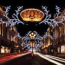 Christmas Day. Regent Street. by Irina Chuckowree