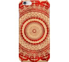 omulyana red mandala iPhone Case/Skin