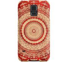 omulyana red mandala Samsung Galaxy Case/Skin