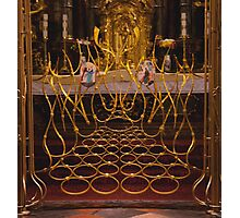 Altar Gate Photographic Print