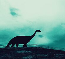 Lonely Dinosaur by RoboKrause