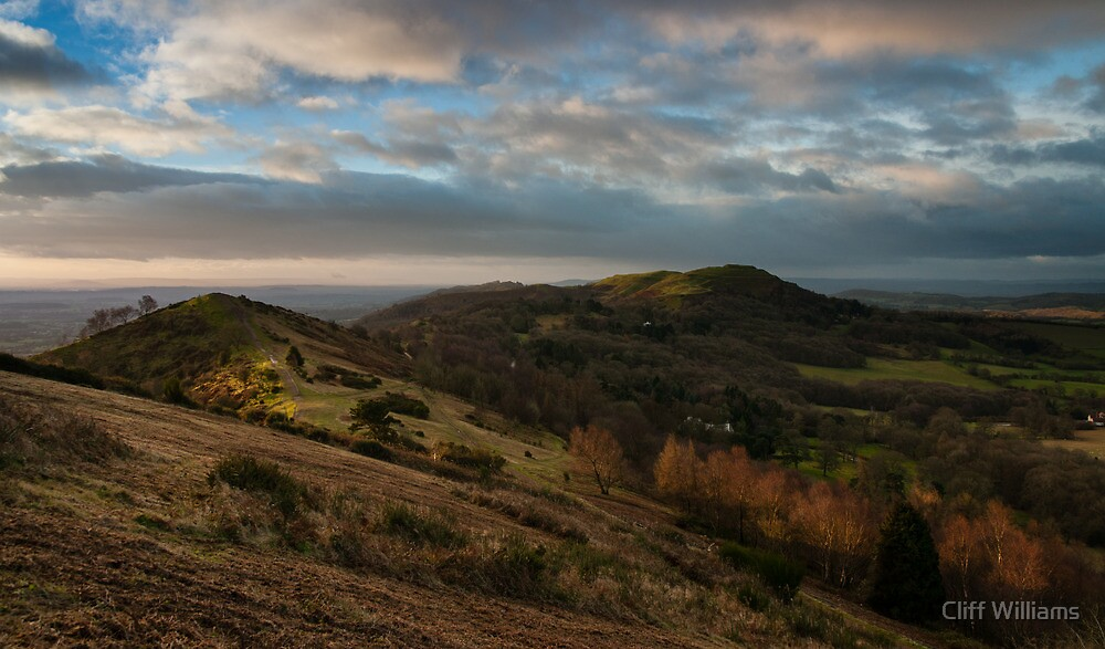 First light hits Hereford Beacon by Cliff Williams