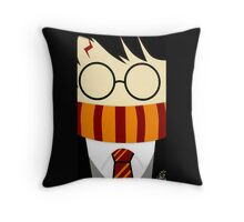 Harry potter stay cute Throw Pillow