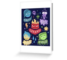 Colourful Mind Greeting Card