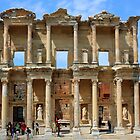 Library at Ephesus, Turkey by BrianFitePhoto