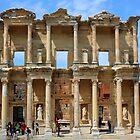 Library at Ephesus, Turkey by BrianFitePhoto
