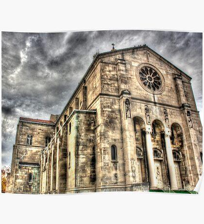 Surreal church Poster