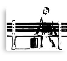 Sitting, Waiting, Wishing Canvas Print