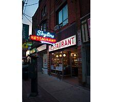 Skyline Restaurant Photographic Print