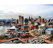 Baltimore Inner Harbor Photographic Print