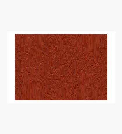 Wood Pattern Photographic Print