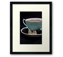 Some Tea with my Truffles  Framed Print