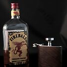 Still Life - Whiskey & Flask 2 by rsangsterkelly
